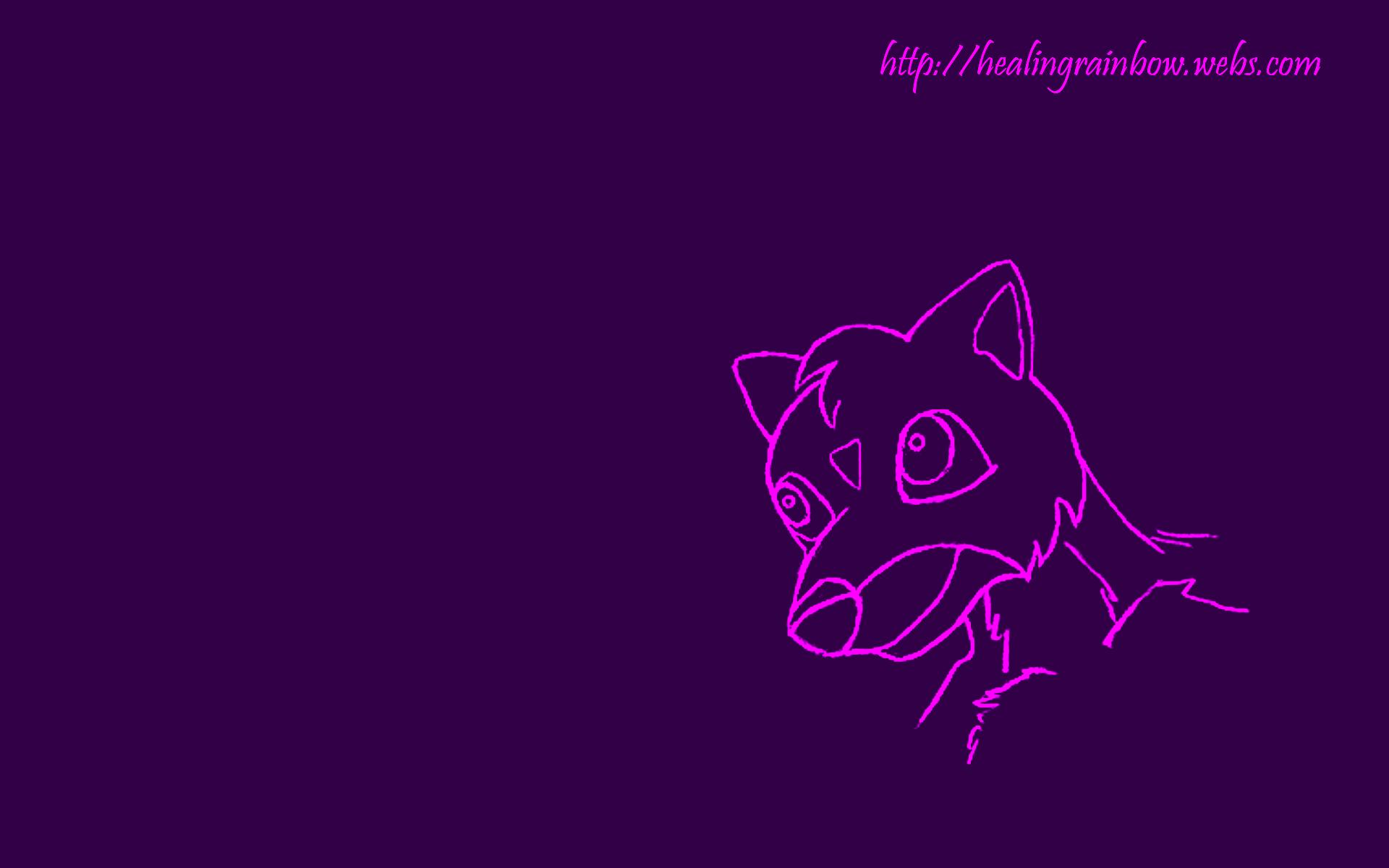 1920x1200 Cute Creature Purple desktop PC and Mac wallpaper 1920x1200