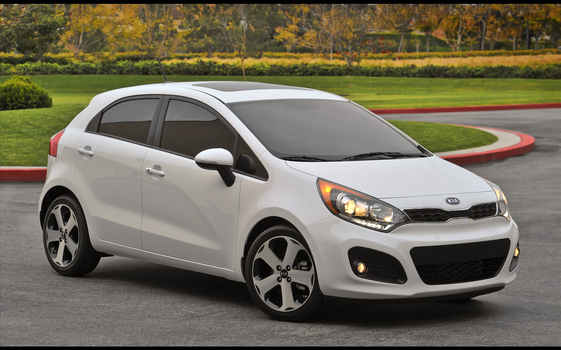 KIA RIO 5 2012 Wallpaper Sense The Car 1920x1200