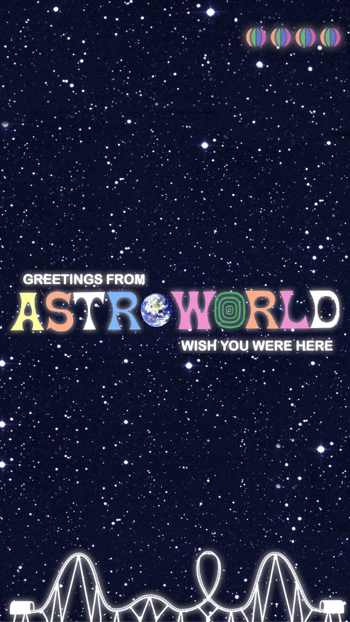 astro world shared by aestetic vibez on We Heart It 720x1280