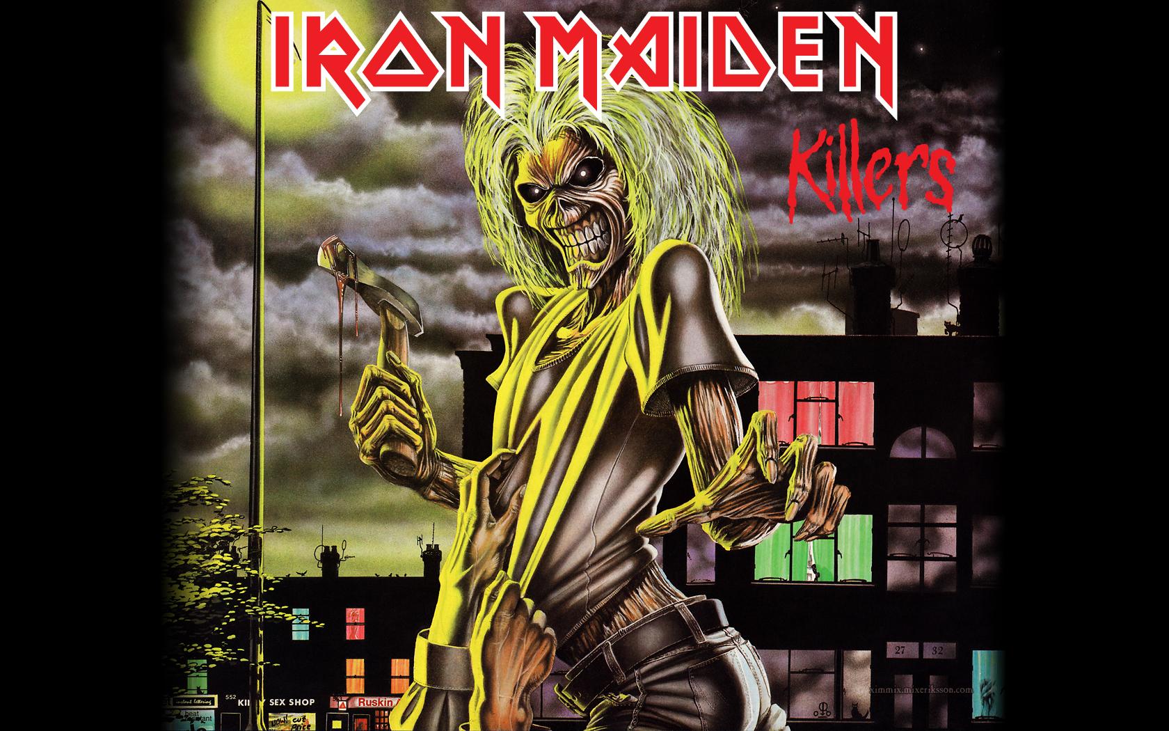Iron Maiden remastered 1680x1050