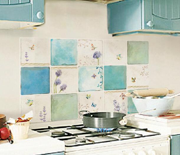 Modern waterproof kitchen wallpaper washable wall paper adhesive 610x525