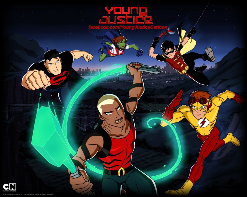 Young Justice Cartoon Downloads Wallpaper   Young Justice 1024x819