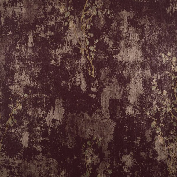Burgundy and Gold Zen Wallpaper   Wall Sticker Outlet 600x600