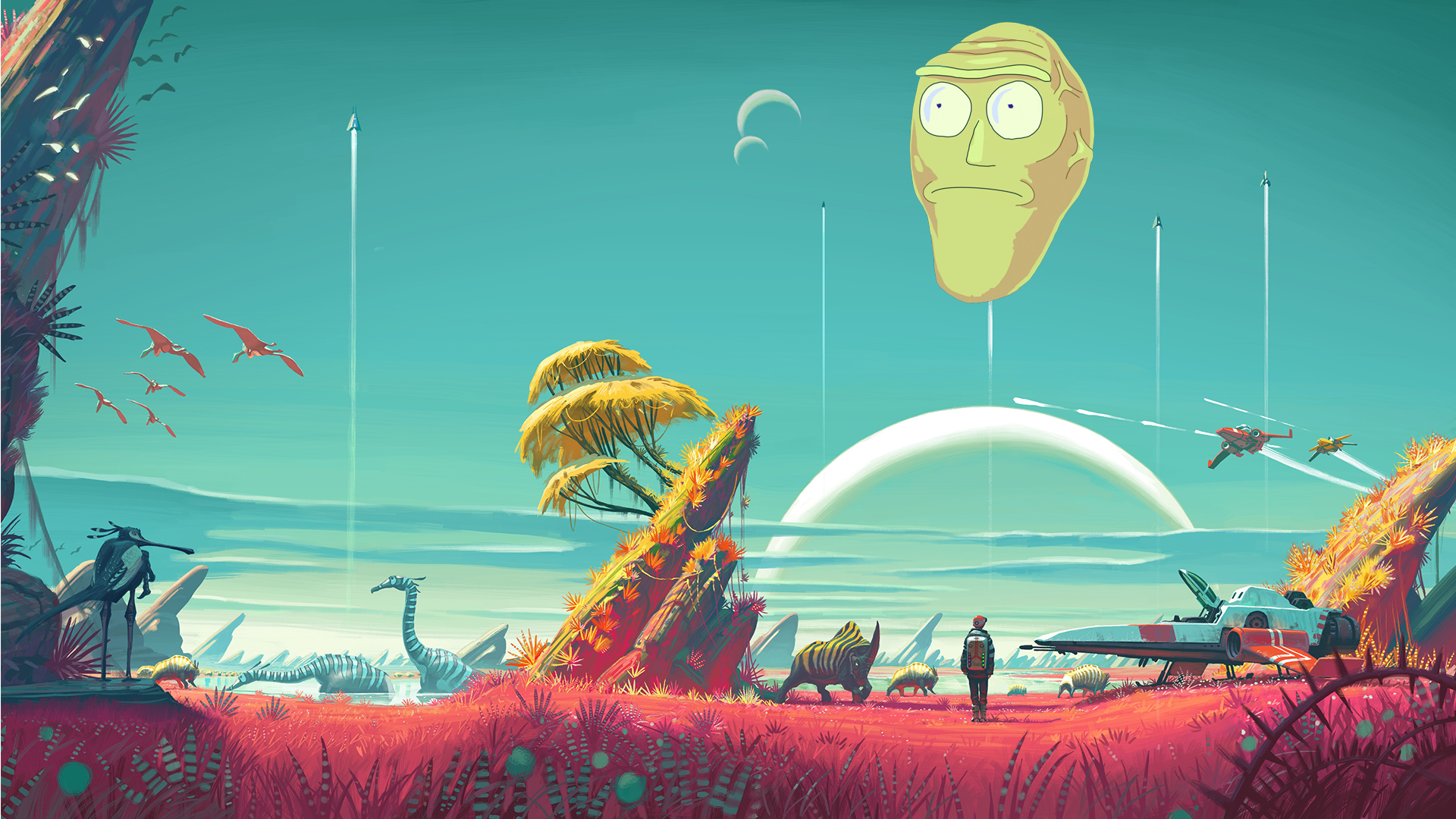 Rick and Morty Wallpaper Full HD Pictures 1920x1080