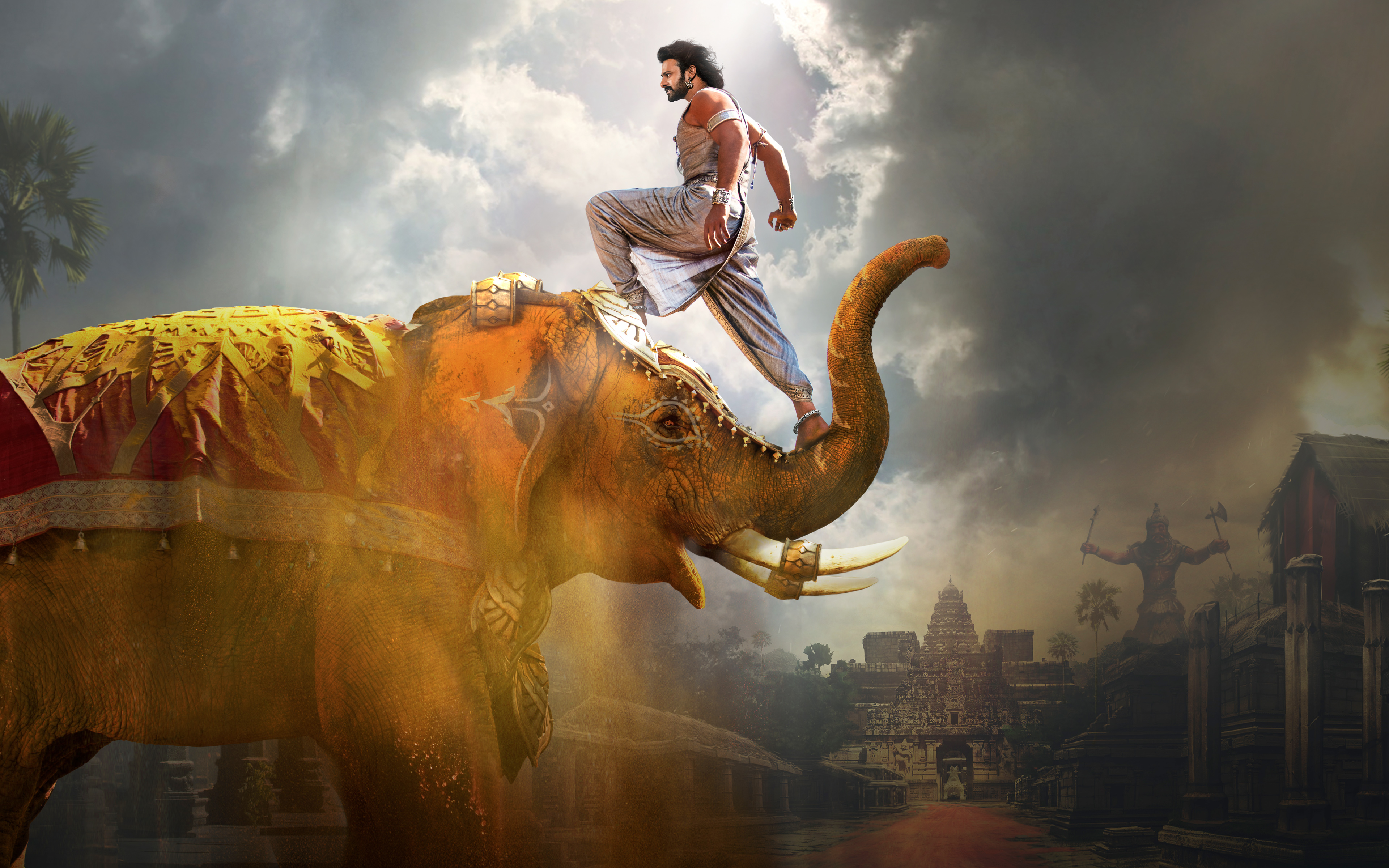 Baahubali 2 The Conclusion 4k Ultra HD Wallpaper Background 3840x2400