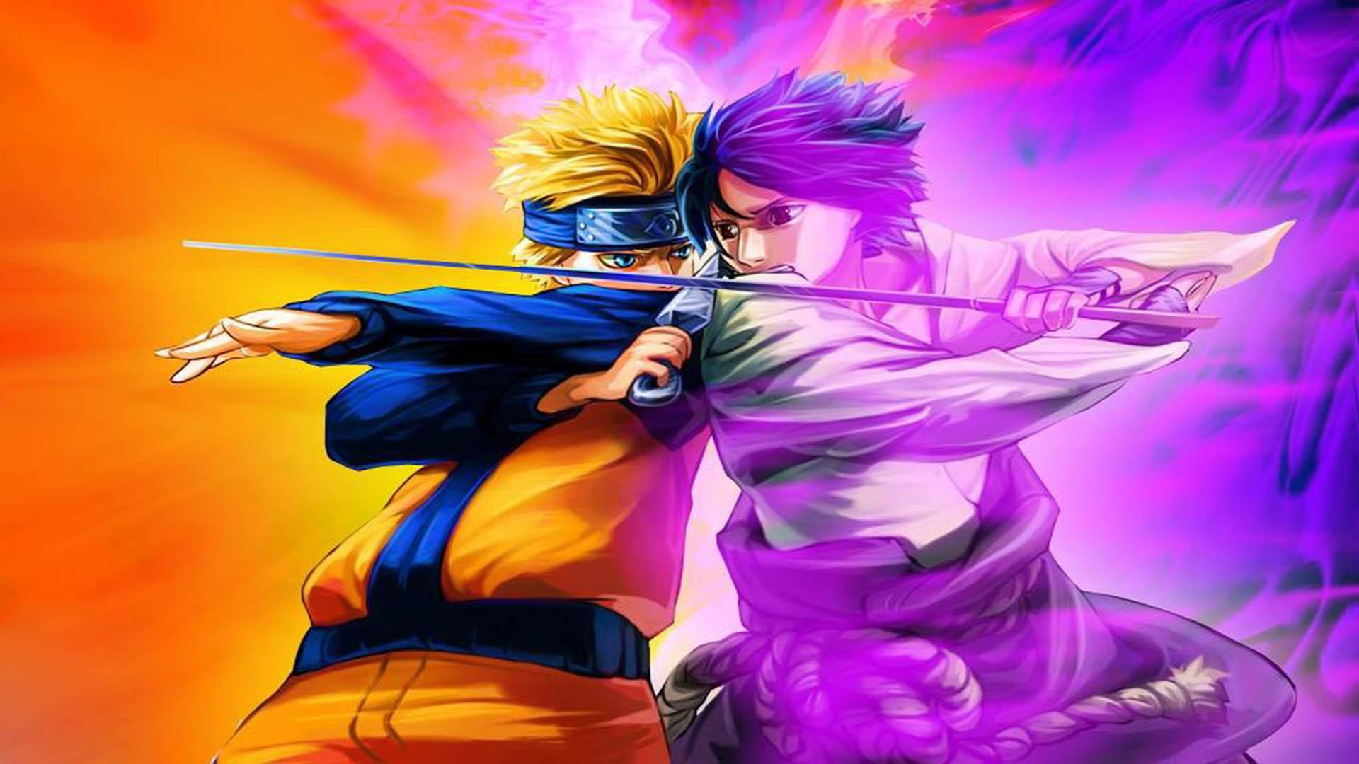 naruto vs sasuke anime wallpaper hd Wallpaper hd Hintergrundbilder 1920x1080