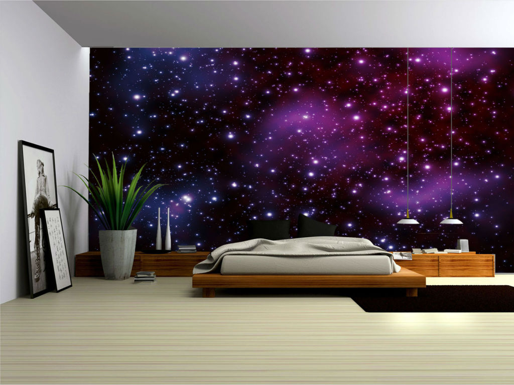 49 Galaxy Wallpaper For Bedroom On Wallpapersafari