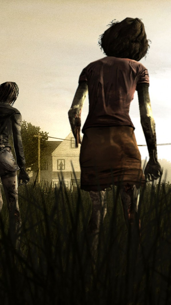 The Walking Dead Season 5 Iphone Wallpaper