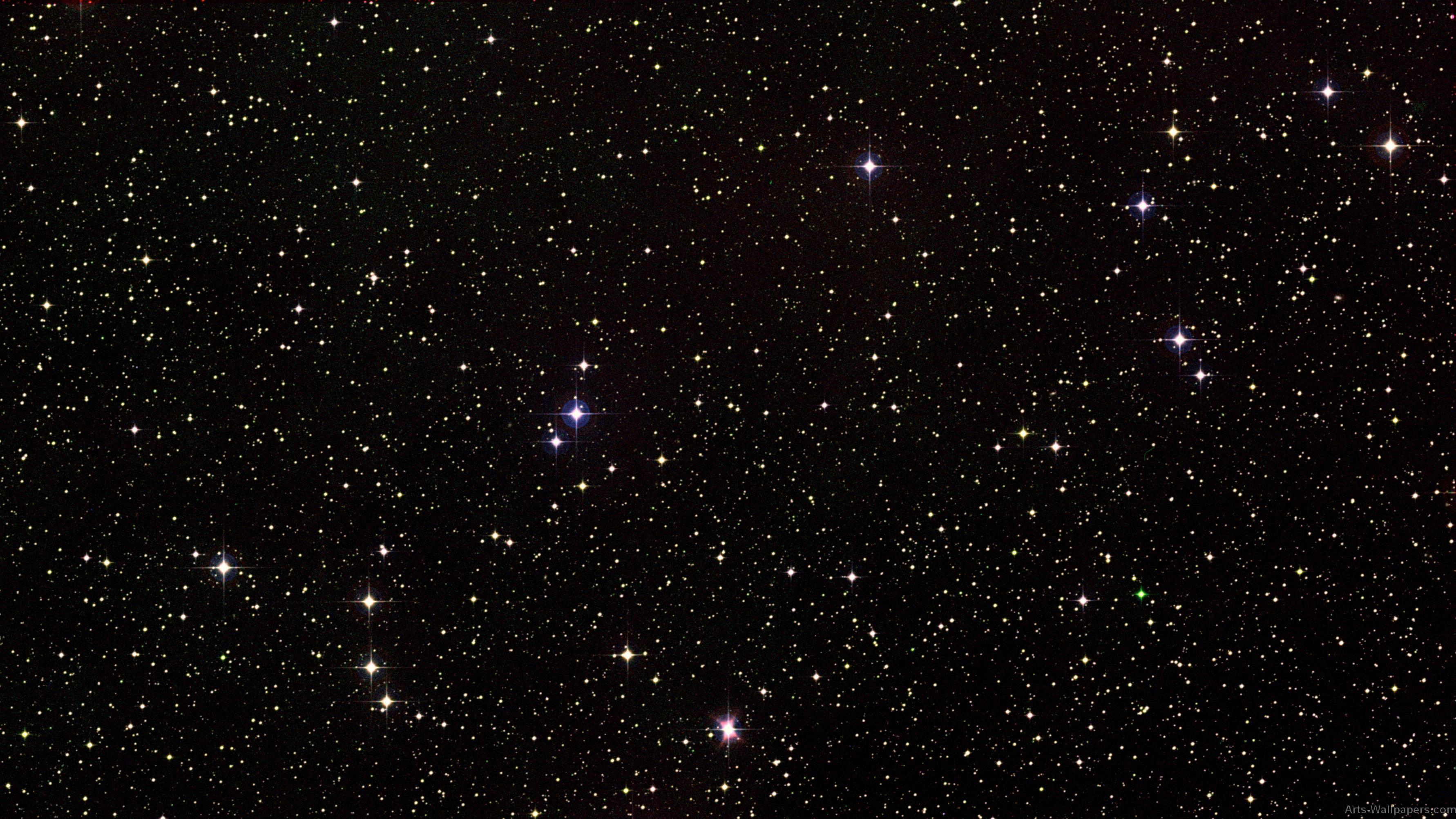 Space Stars Wallpaper 3564x2005