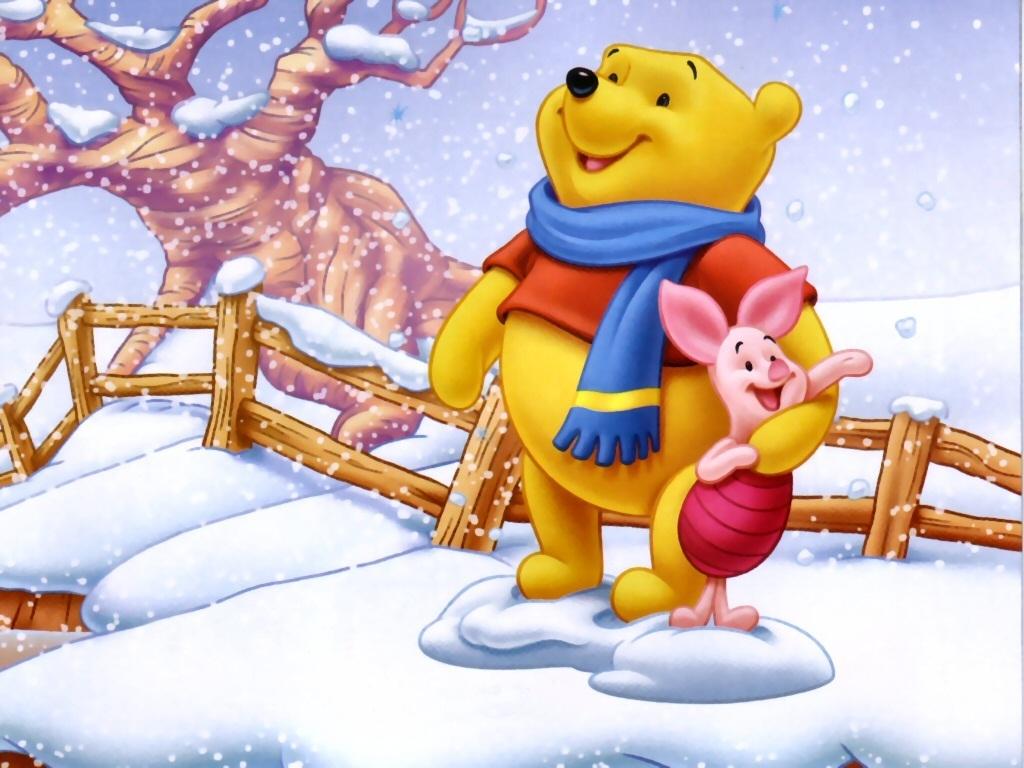 Winnie the Pooh Christmas - Christmas Wallpaper (2735511) - Fanpop