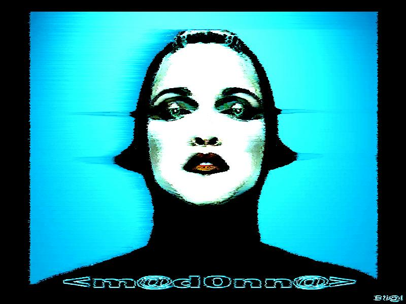 Madonna Screensaver i come in PEACE 800x600