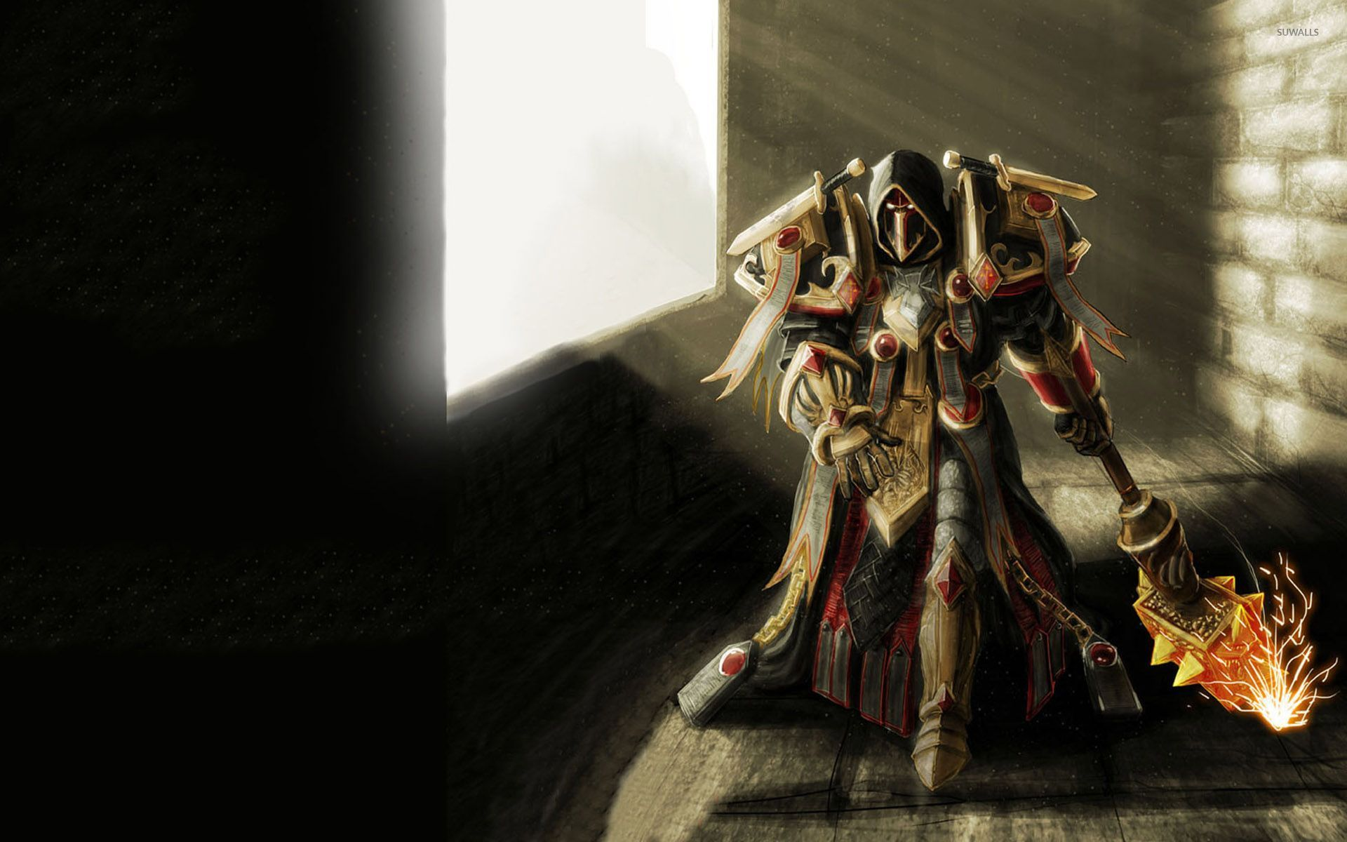 Free Download Wow Paladin Wallpaper 1920x1200 For Your Desktop