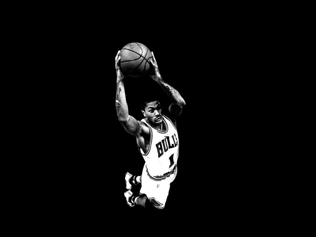 Derrick Rose Chicago Bulls Wallpaper Background Theme Desktop 1024x768