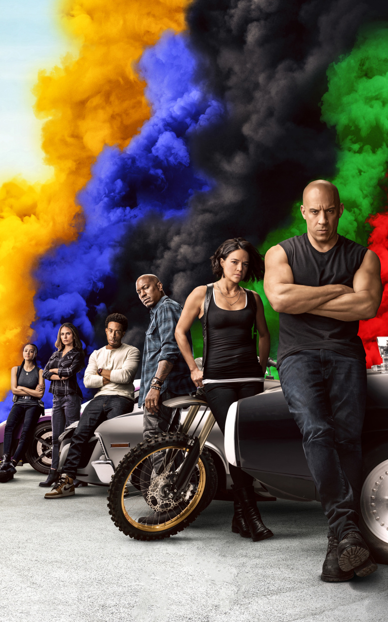 Download Movie 2020 cast Fast Furious 9 wallpaper 800x1280 800x1280