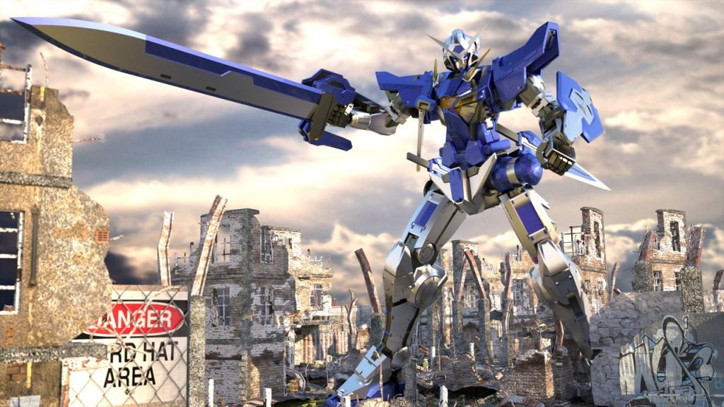 Gundam Exia Wallpaper 10 Background Wallpaper   Animewpcom 1024x576