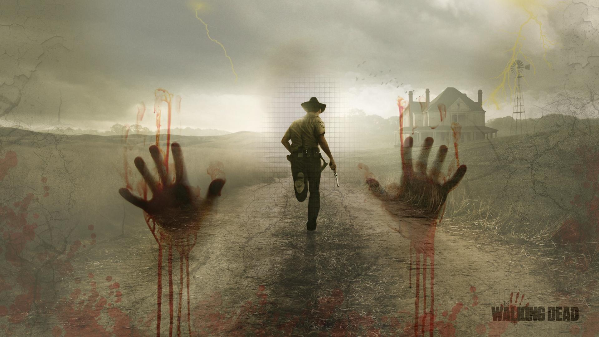 The Walking Dead Wallpaper by BlooddrunkDesigns 1920x1080