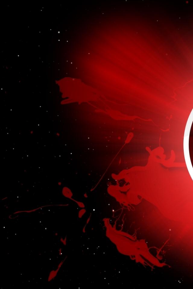 Wallpapers Download 640x960 red dc comics lanterns red lantern corps 640x960