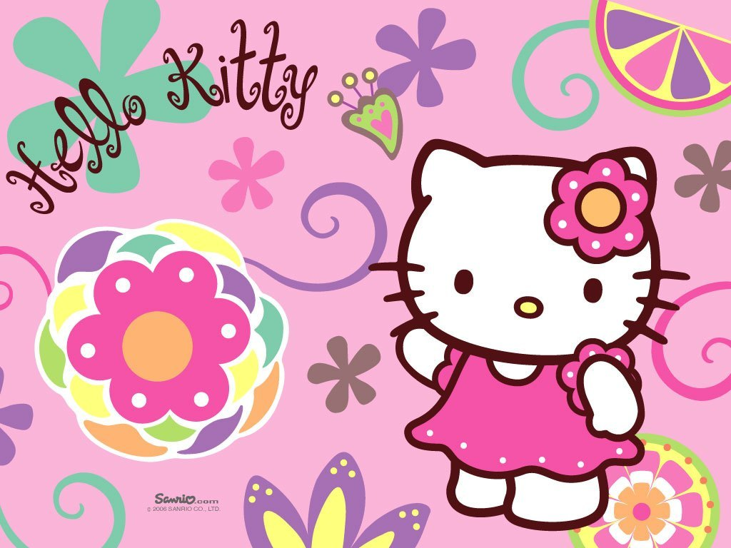 hd desktop background Hello Kitty Desktop Background 1024x768