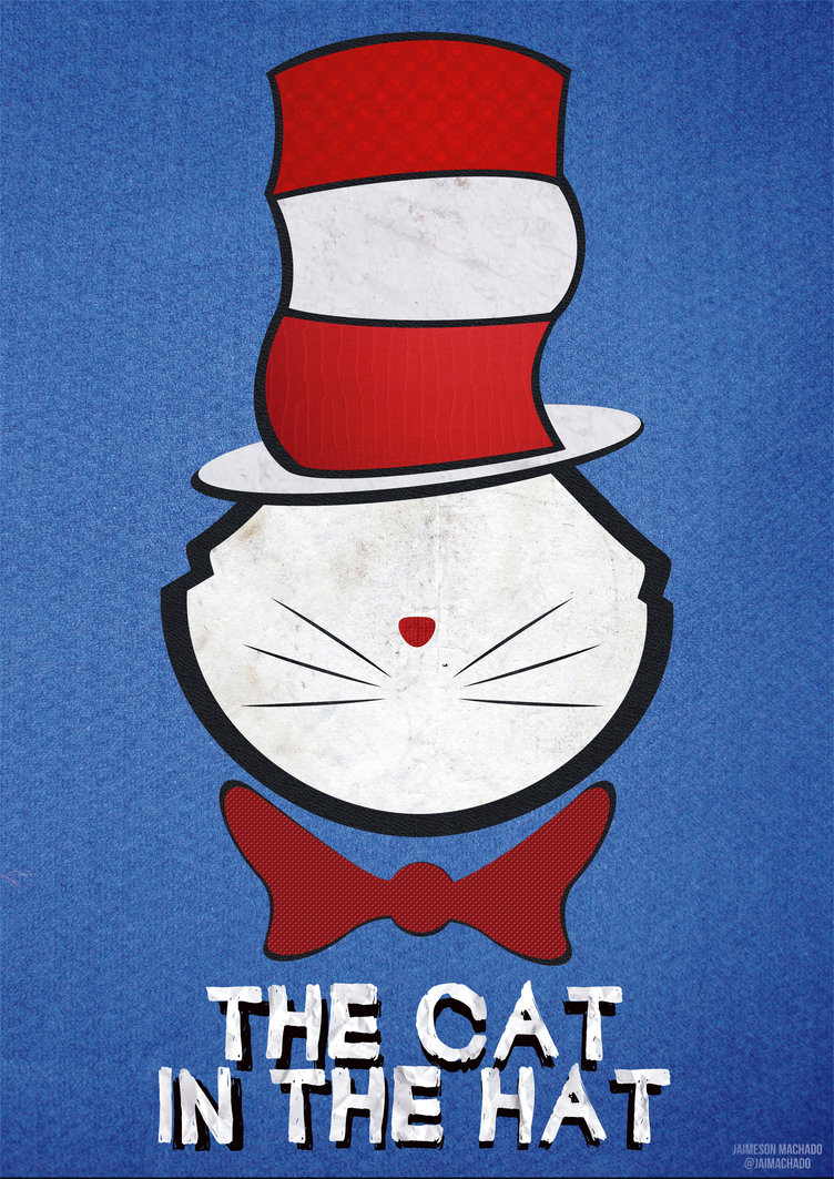 THE CAT IN THE HAT by JaiMachado 752x1063