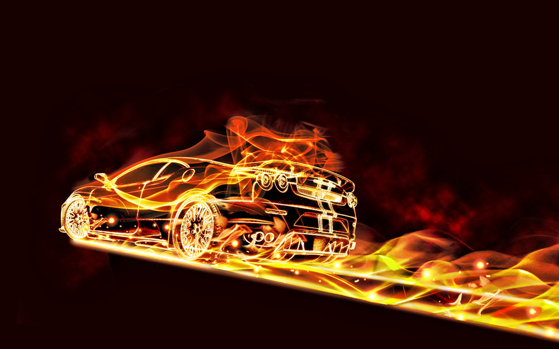 Car fire by Paullus23 1131x707