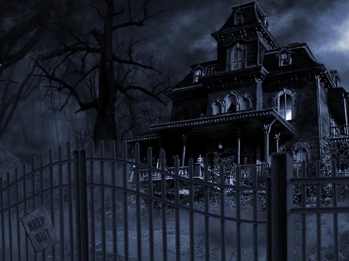 1152x864 Haunted Mansion desktop PC and Mac wallpaper 1152x864