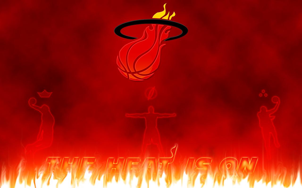 Miami Heat Logo Wallpaper Hd Wide 1280x800 pixel Popular HD 1280x800
