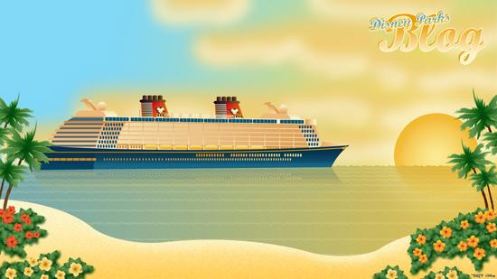 Disney Cruise Lines Disney Fantasy Cruises to a Desktop Near You 550x309