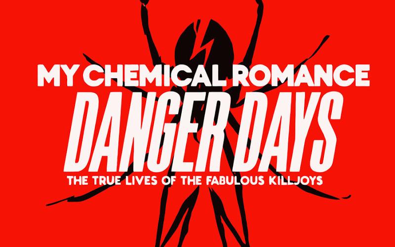 My Chemical Romance Logo Wallpaper Spider Mcr   danger days wallpaper 800x500