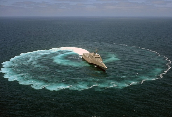 Wallpaper USS Independence LCS 2 ship sea combat ship desktop 590x400