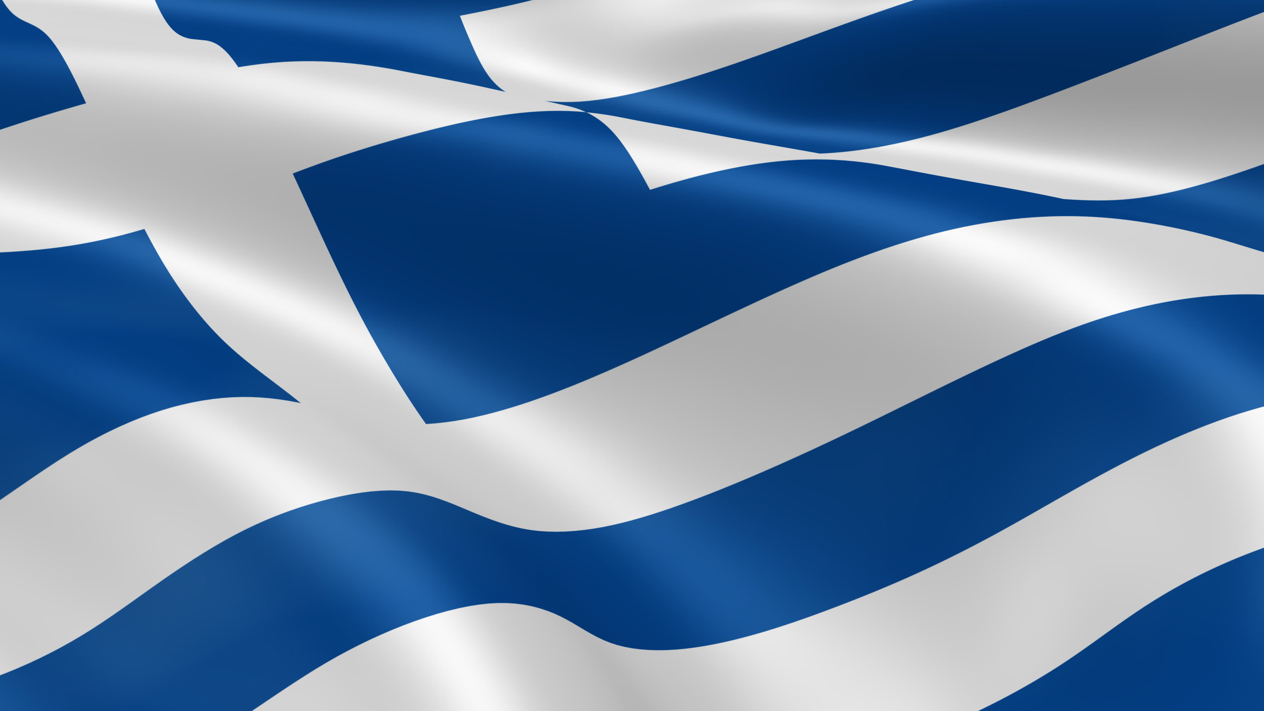 Greek Flag Wallpaper 4096x2304