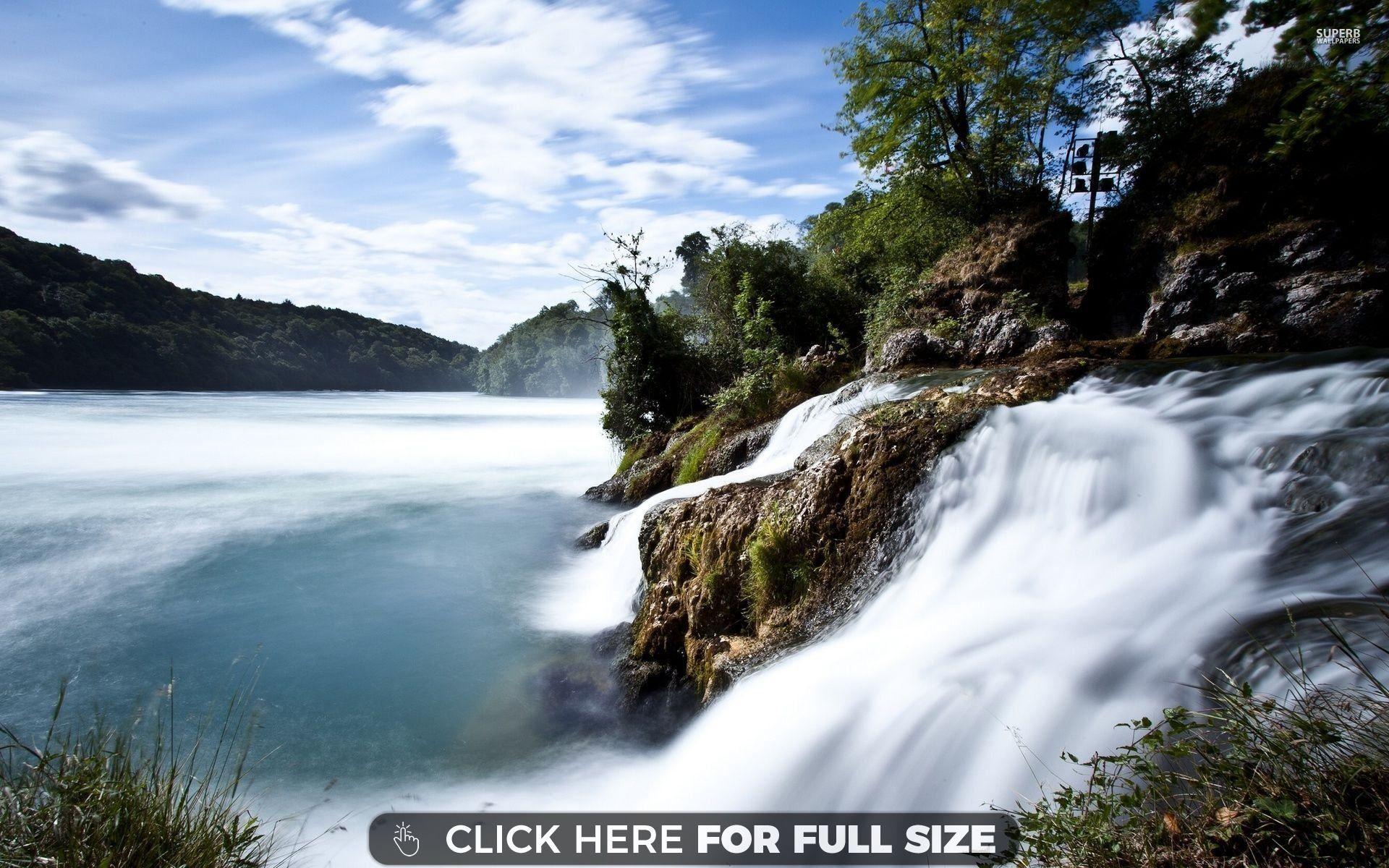 Rhine Falls 17934 Desktop Wallpapers Waterfall wallpaper 4k 1920x1200