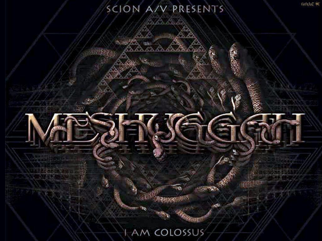 Meshuggah Wallpapers 1024x768