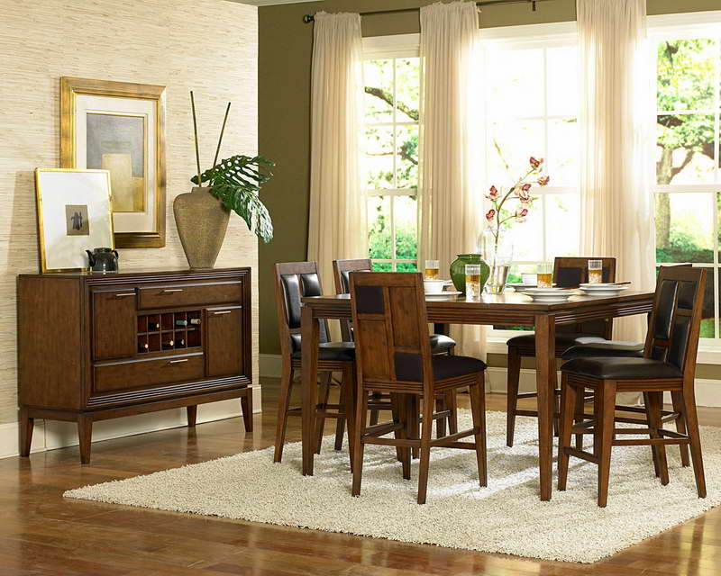 Ideas With Wallpaper Country Dining Room Decorating Ideas Dining Room 800x640