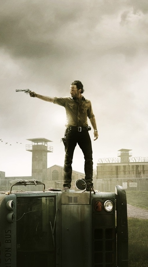 Rick Grimes from The Walking Dead iPhone 5 Wallpaper 500x900 500x900