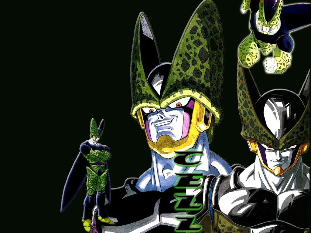 Dragon Ball Z Cell 1024x768
