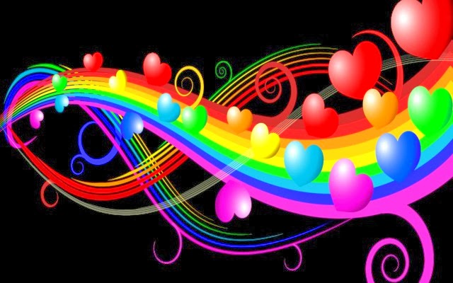 Title Cute heart wallpapers 640x400