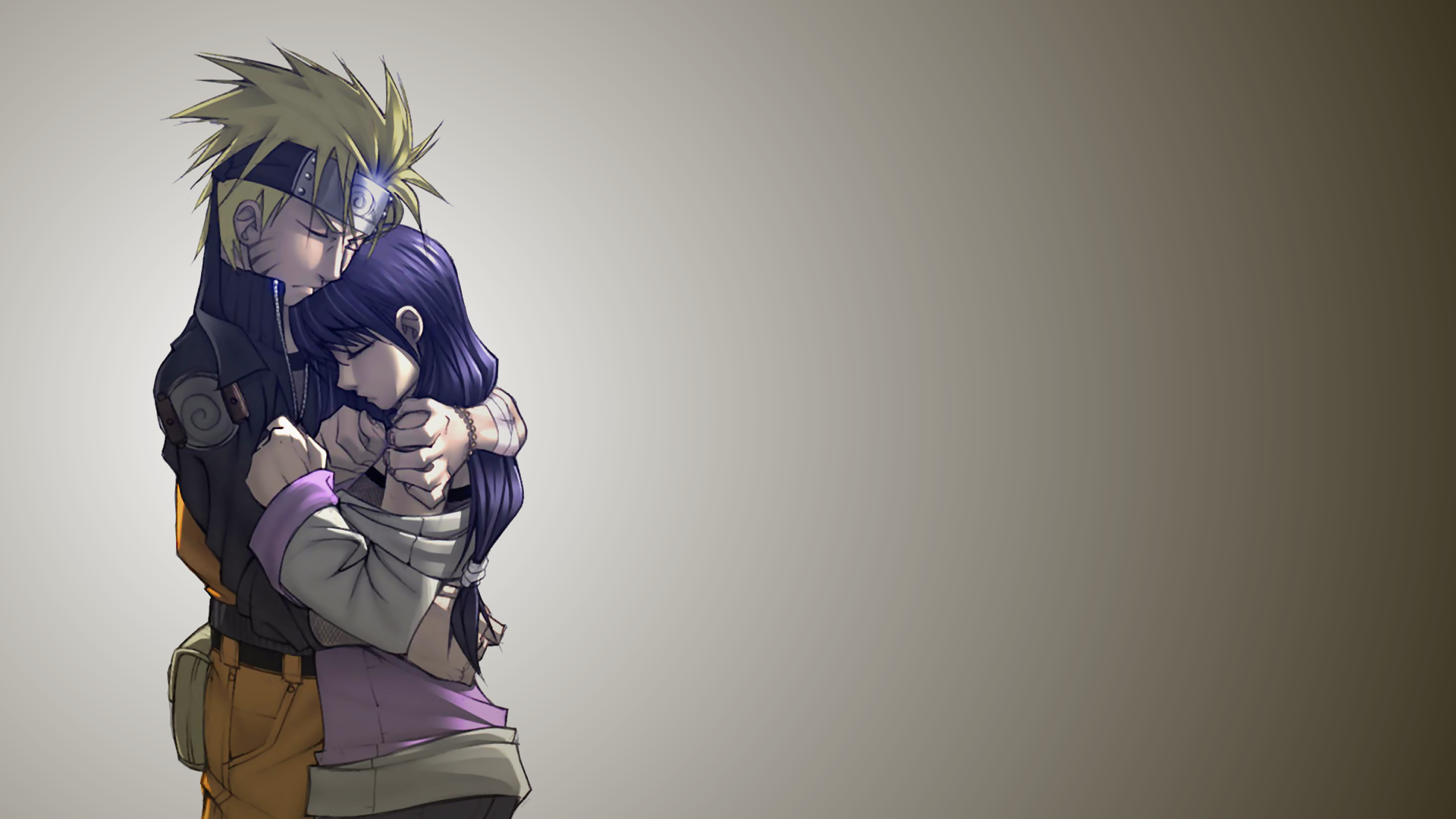 Naruto Uzumaki and Hinata Hyuga wallpaper 14348 1920x1080
