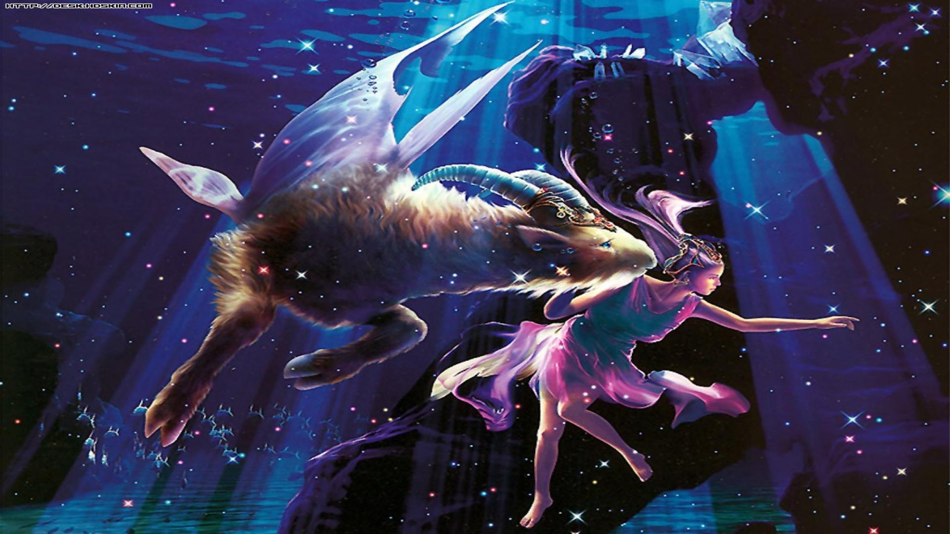 фото на рабочий стол созвездия рыб