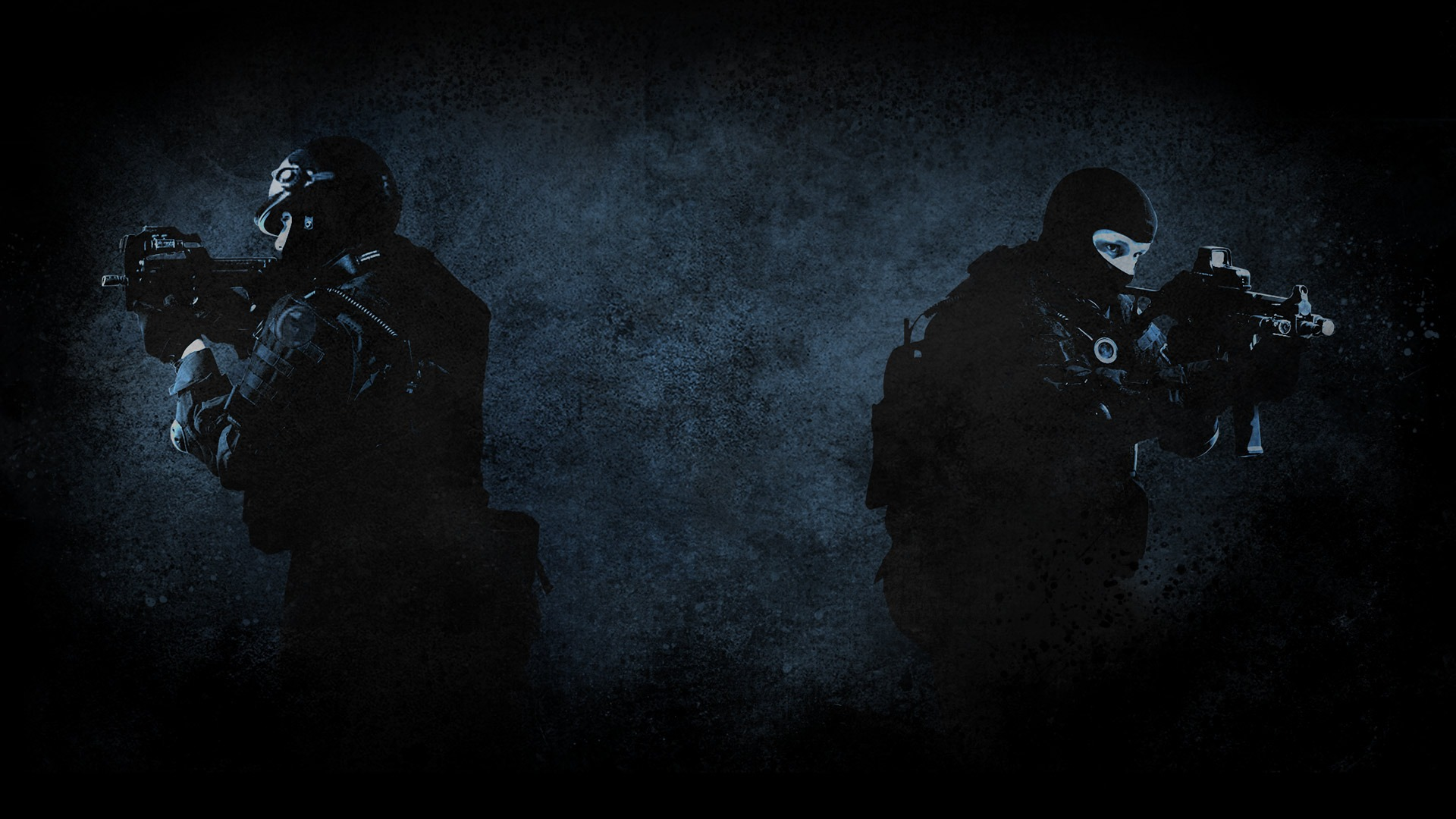Csgo Wallpaper Counter Strike Global Offensive Ct With M4 Logo Picture