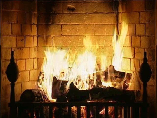 Fireplace Screensaver The fireplace 640x480