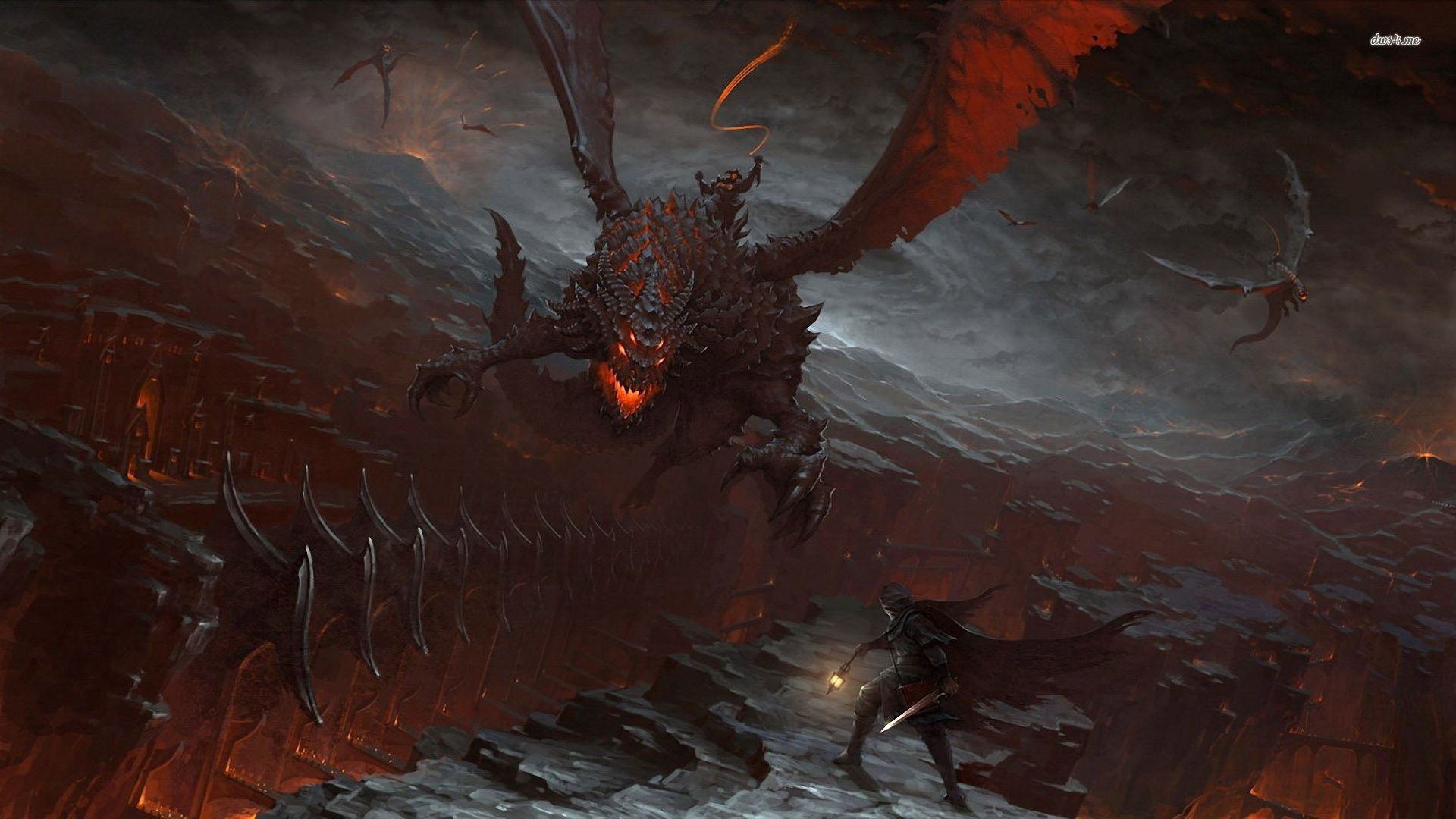 Group Of Deathwing Wallpaper Wallpapers World