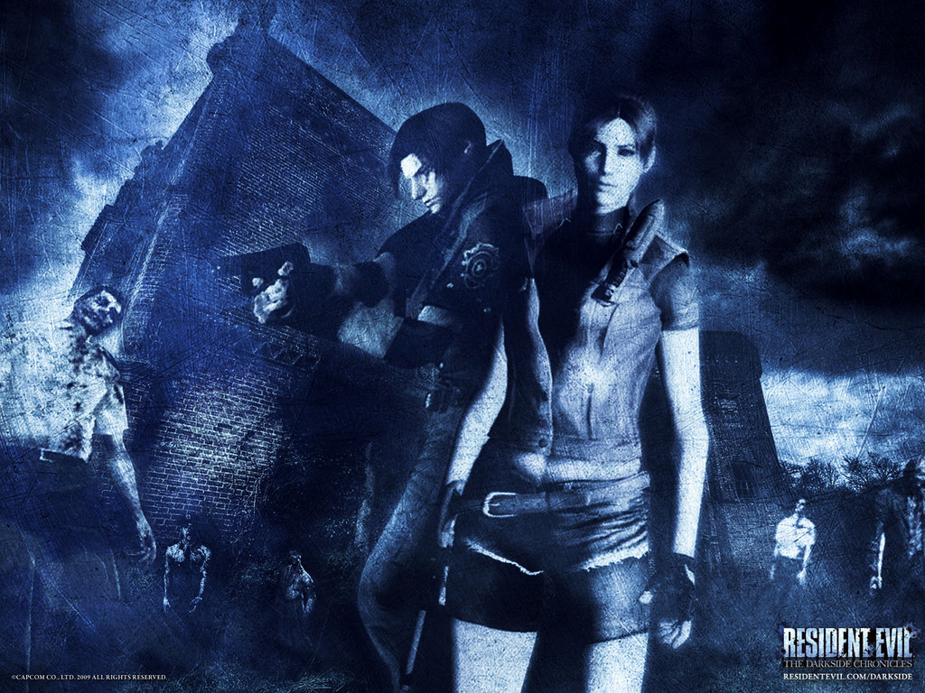 Resident Evil Claire Redfield Wallpaper 1024x768