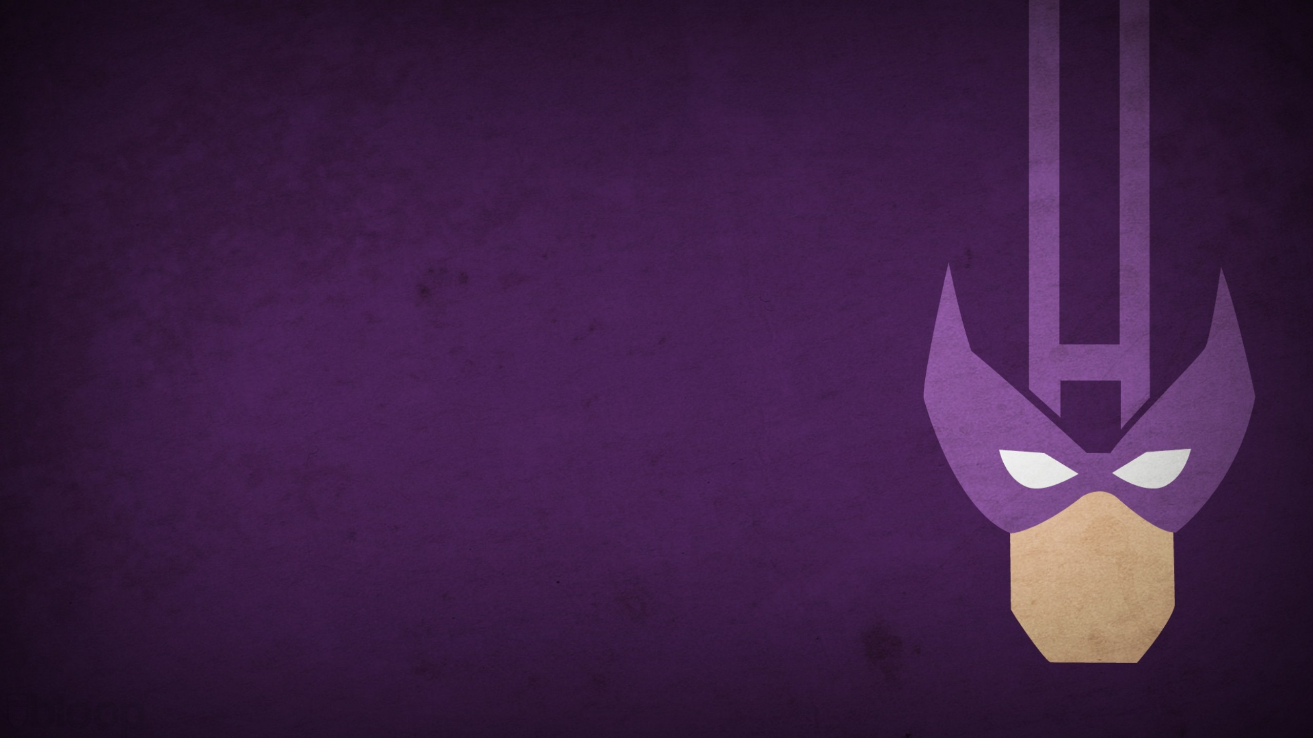 Marvel Comics Hawkeye purple background blo0p wallpaper background 2560x1440