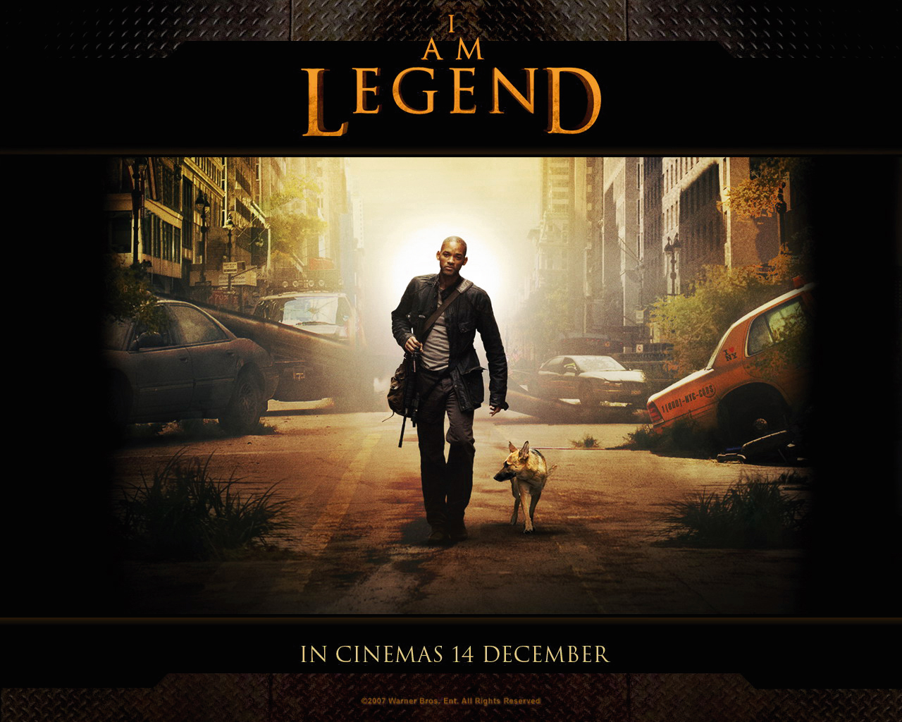 Movie Memorabilia Emporium I Am Legend Wallpaper Set 01 1280x1024