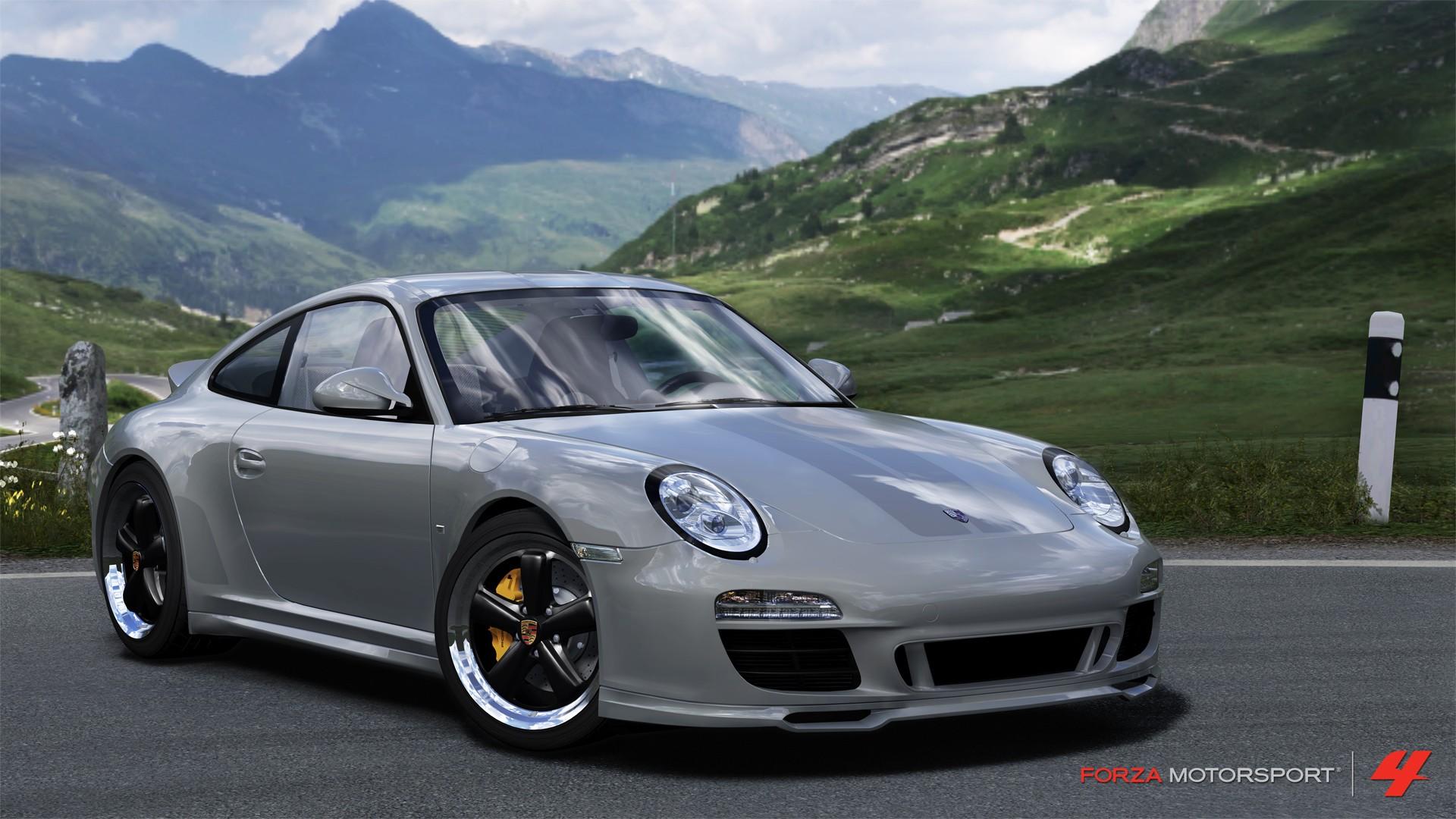 cars Xbox 360 Porsche 911 Forza Motorsport 4 wallpaper background 1920x1080