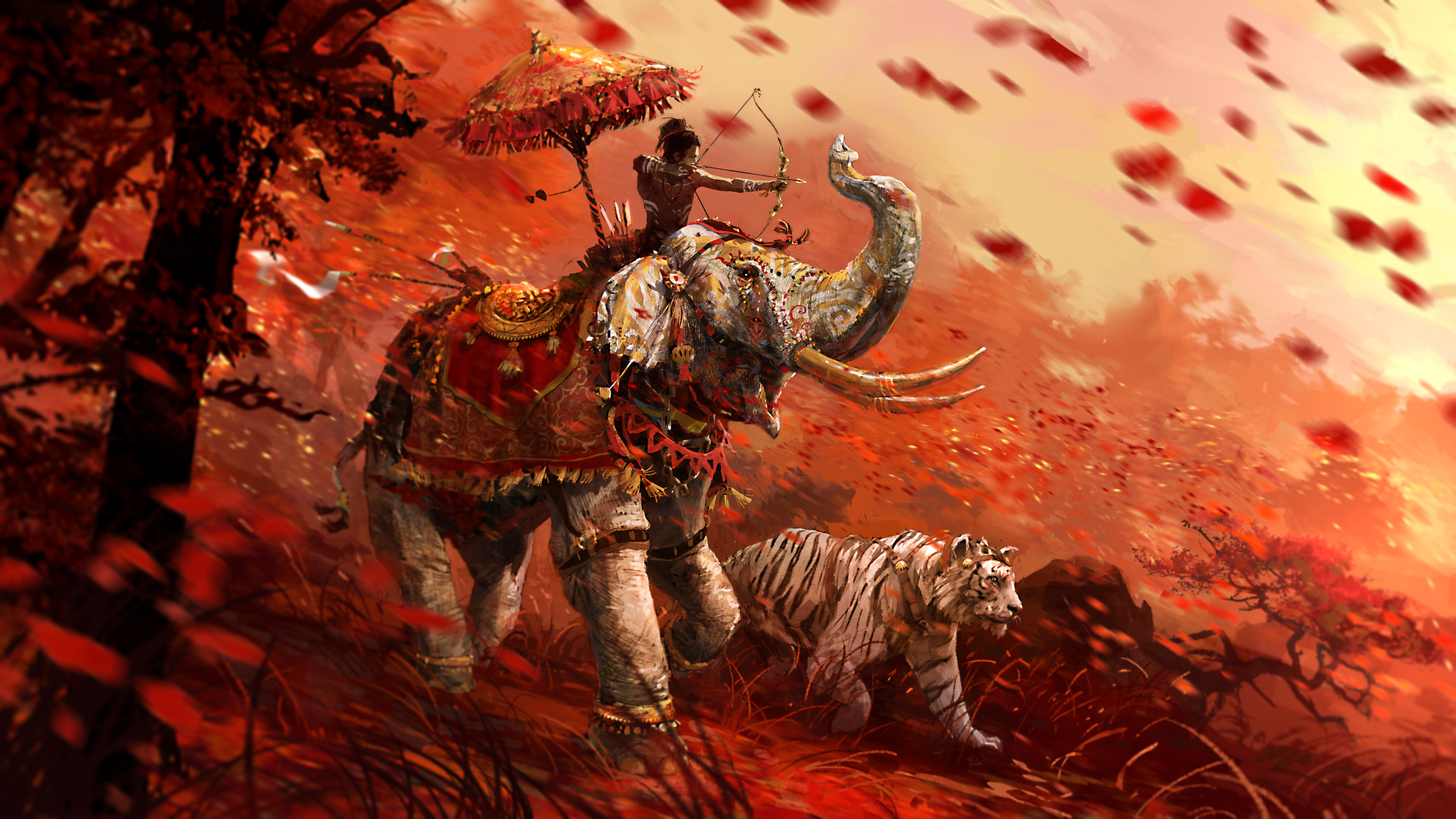 Free Download Video Game Far Cry 4 Far Cry Tiger Elephant