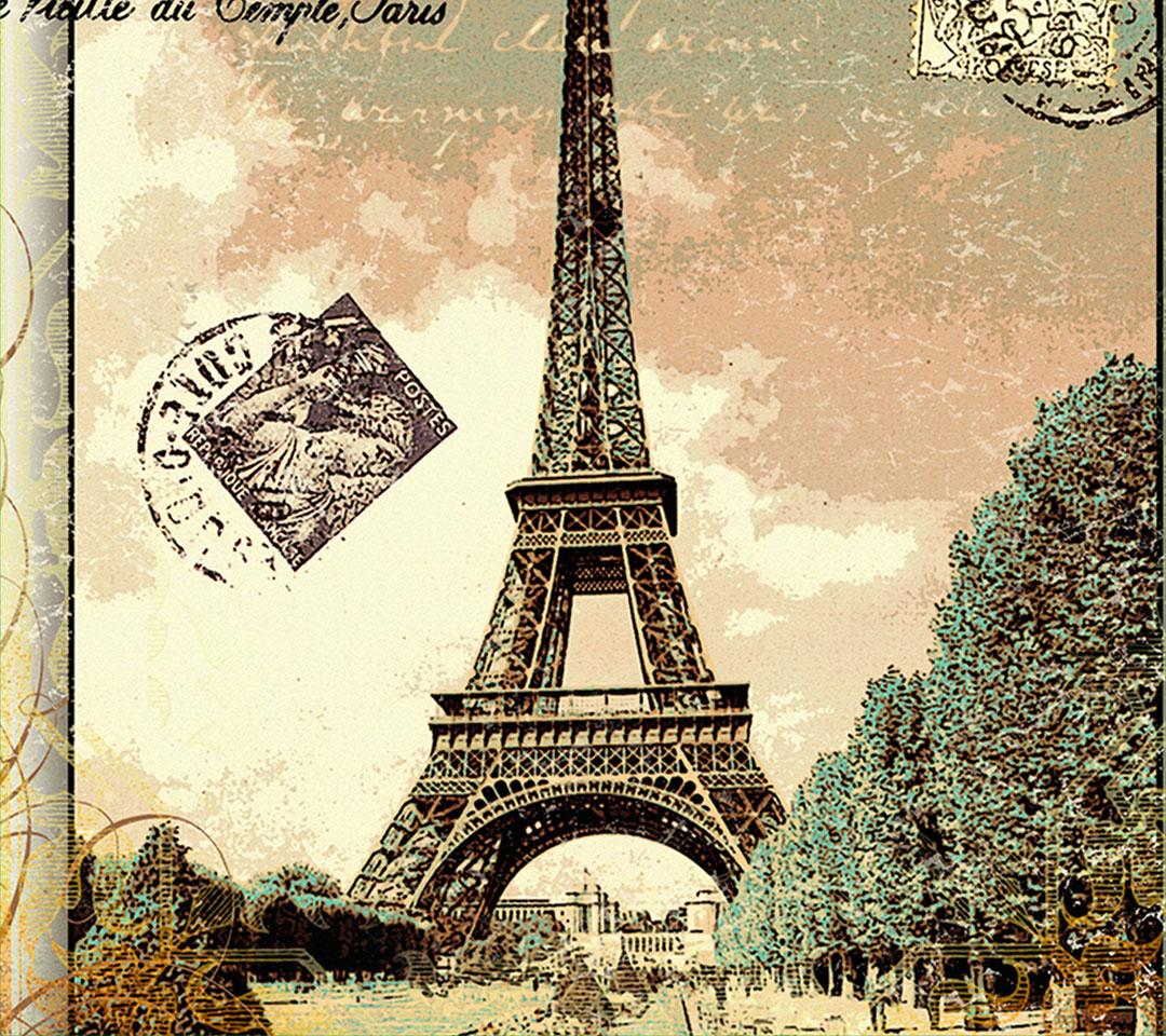 франция париж открытки дом
