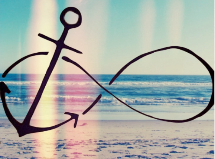 Anchor With Infinity Symbol Wallpapers Wallpapersafari