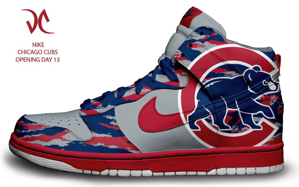 Chicago Cubs Custom Nike Dunks by tsilvetti 1024x642
