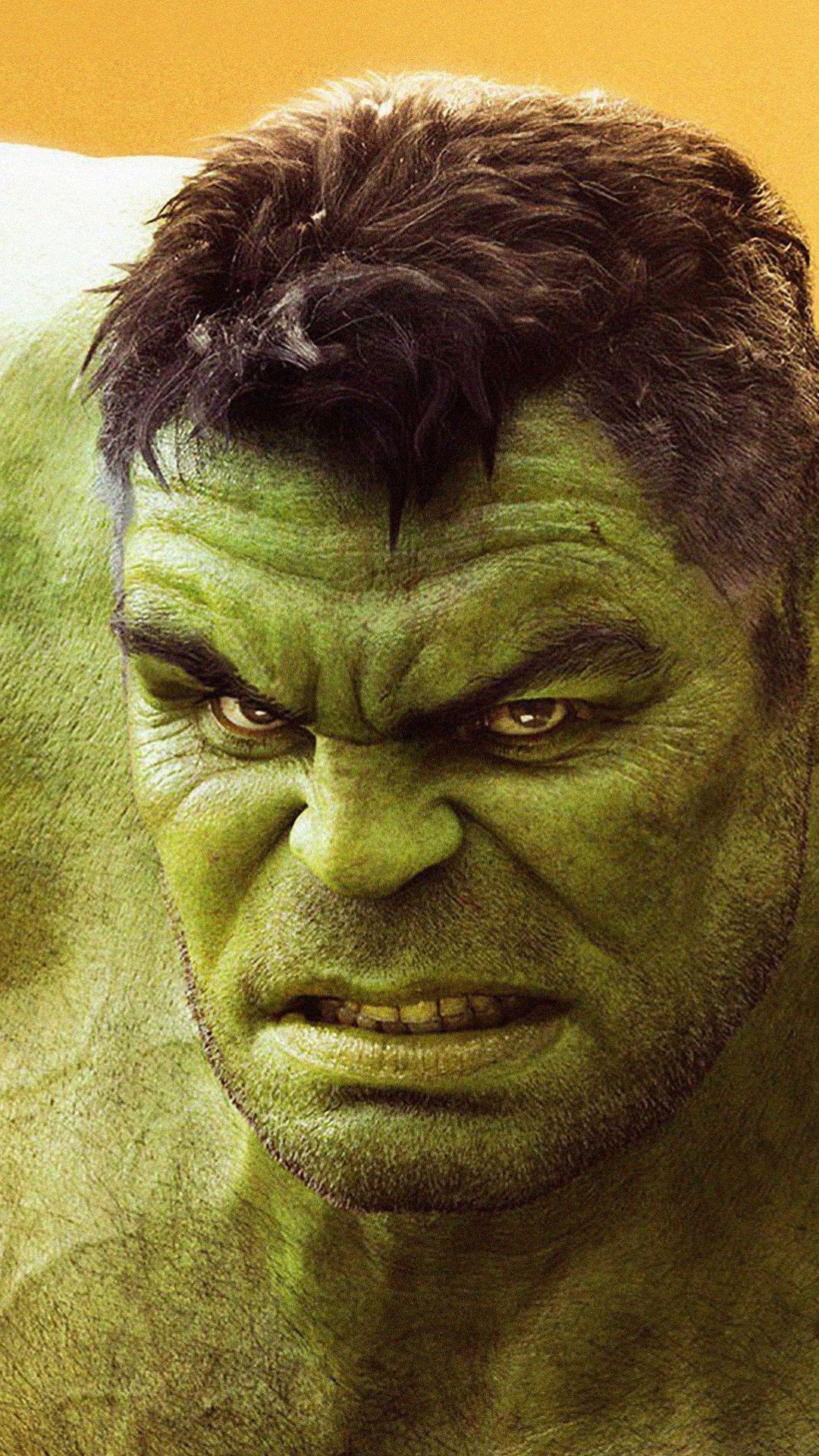 Mighty hulk green superhero movie Avengers Infinity War 1080x1920